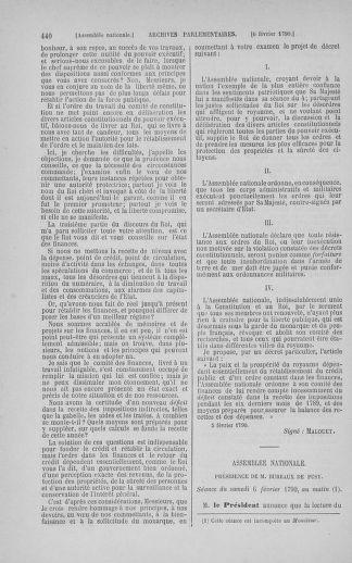 Tome 11 : Du 24 décembre 1789 au 1er mars 1790 - page 440