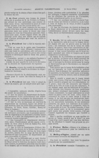 Tome 11 : Du 24 décembre 1789 au 1er mars 1790 - page 441