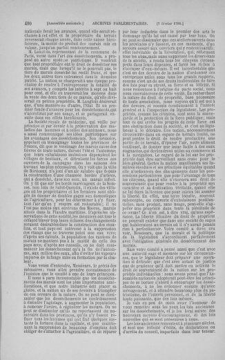 Tome 11 : Du 24 décembre 1789 au 1er mars 1790 - page 487