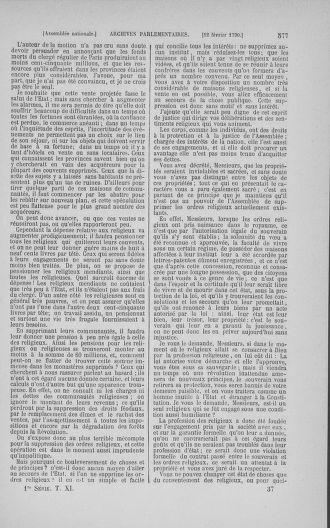 Tome 11 : Du 24 décembre 1789 au 1er mars 1790 - page 574