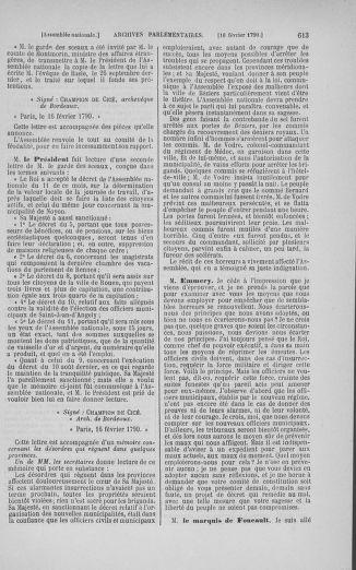 Tome 11 : Du 24 décembre 1789 au 1er mars 1790 - page 610