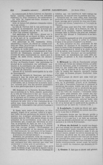 Tome 11 : Du 24 décembre 1789 au 1er mars 1790 - page 615