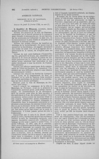 Tome 11 : Du 24 décembre 1789 au 1er mars 1790 - page 689