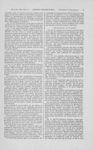 Tome 2 : 1789 – États généraux. Cahiers des sénéchaussées et baillages [Angoumois - Clermont-Ferrand] - page 5