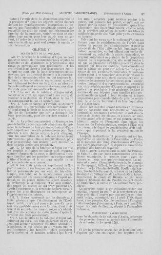 Tome 2 : 1789 – États généraux. Cahiers des sénéchaussées et baillages [Angoumois - Clermont-Ferrand] - page 37