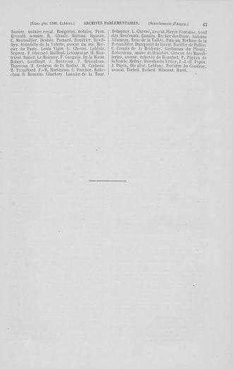 Tome 2 : 1789 – États généraux. Cahiers des sénéchaussées et baillages [Angoumois - Clermont-Ferrand] - page 45