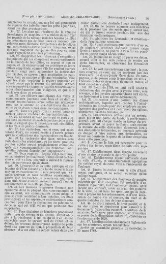 Tome 2 : 1789 – États généraux. Cahiers des sénéchaussées et baillages [Angoumois - Clermont-Ferrand] - page 99
