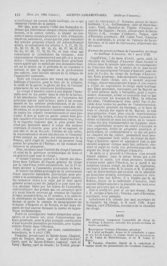 Tome 2 : 1789 – États généraux. Cahiers des sénéchaussées et baillages [Angoumois - Clermont-Ferrand] - page 112