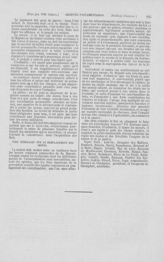 Tome 2 : 1789 – États généraux. Cahiers des sénéchaussées et baillages [Angoumois - Clermont-Ferrand] - page 125