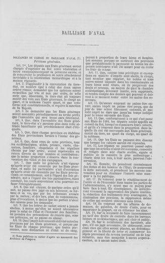 Tome 2 : 1789 – États généraux. Cahiers des sénéchaussées et baillages [Angoumois - Clermont-Ferrand] - page 137