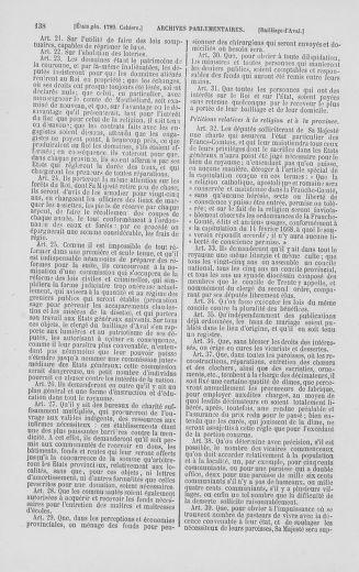 Tome 2 : 1789 – États généraux. Cahiers des sénéchaussées et baillages [Angoumois - Clermont-Ferrand] - page 138