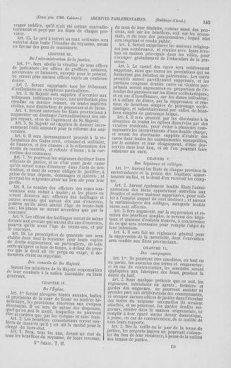 Tome 2 : 1789 – États généraux. Cahiers des sénéchaussées et baillages [Angoumois - Clermont-Ferrand] - page 145