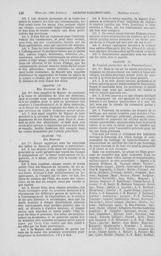 Tome 2 : 1789 – États généraux. Cahiers des sénéchaussées et baillages [Angoumois - Clermont-Ferrand] - page 146