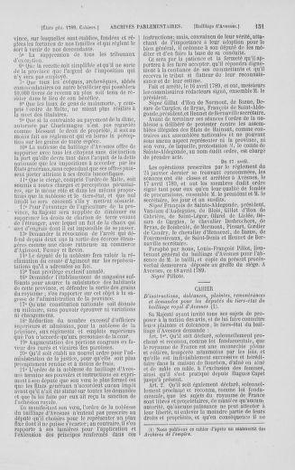 Tome 2 : 1789 – États généraux. Cahiers des sénéchaussées et baillages [Angoumois - Clermont-Ferrand] - page 151