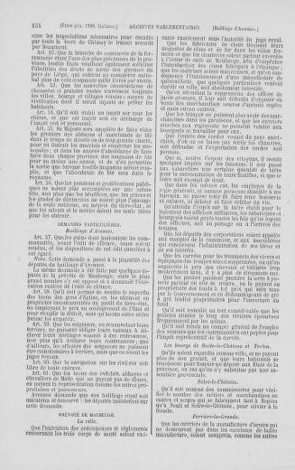 Tome 2 : 1789 – États généraux. Cahiers des sénéchaussées et baillages [Angoumois - Clermont-Ferrand] - page 154