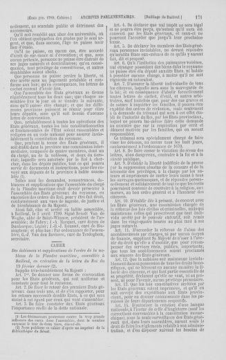 Tome 2 : 1789 – États généraux. Cahiers des sénéchaussées et baillages [Angoumois - Clermont-Ferrand] - page 171
