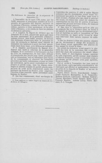 Tome 2 : 1789 – États généraux. Cahiers des sénéchaussées et baillages [Angoumois - Clermont-Ferrand] - page 192