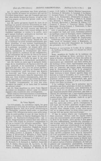 Tome 2 : 1789 – États généraux. Cahiers des sénéchaussées et baillages [Angoumois - Clermont-Ferrand] - page 201