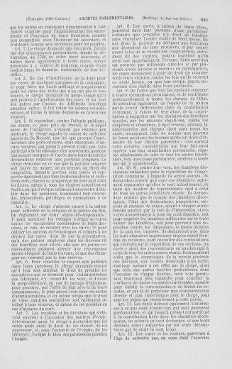 Tome 2 : 1789 – États généraux. Cahiers des sénéchaussées et baillages [Angoumois - Clermont-Ferrand] - page 249