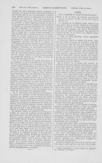 Tome 2 : 1789 – États généraux. Cahiers des sénéchaussées et baillages [Angoumois - Clermont-Ferrand] - page 250