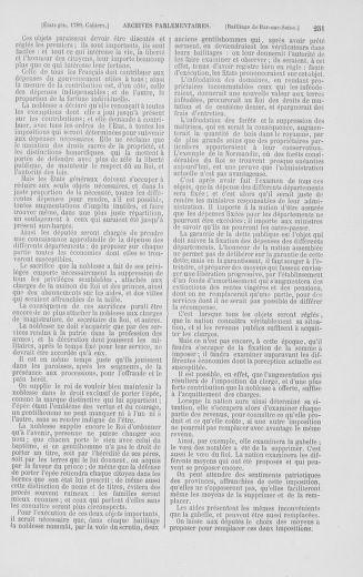 Tome 2 : 1789 – États généraux. Cahiers des sénéchaussées et baillages [Angoumois - Clermont-Ferrand] - page 251