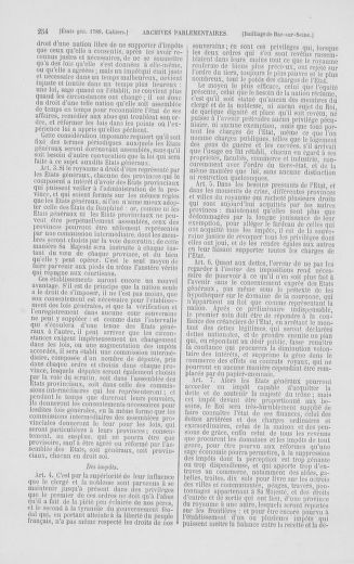 Tome 2 : 1789 – États généraux. Cahiers des sénéchaussées et baillages [Angoumois - Clermont-Ferrand] - page 254