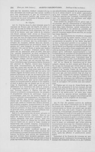 Tome 2 : 1789 – États généraux. Cahiers des sénéchaussées et baillages [Angoumois - Clermont-Ferrand] - page 256