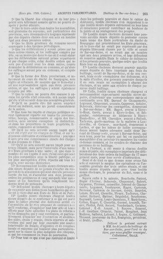 Tome 2 : 1789 – États généraux. Cahiers des sénéchaussées et baillages [Angoumois - Clermont-Ferrand] - page 265