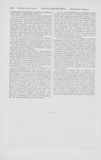 Tome 2 : 1789 – États généraux. Cahiers des sénéchaussées et baillages [Angoumois - Clermont-Ferrand] - page 270