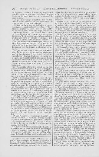 Tome 2 : 1789 – États généraux. Cahiers des sénéchaussées et baillages [Angoumois - Clermont-Ferrand] - page 276