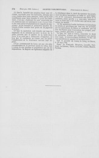 Tome 2 : 1789 – États généraux. Cahiers des sénéchaussées et baillages [Angoumois - Clermont-Ferrand] - page 278