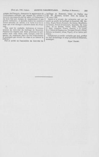 Tome 2 : 1789 – États généraux. Cahiers des sénéchaussées et baillages [Angoumois - Clermont-Ferrand] - page 309