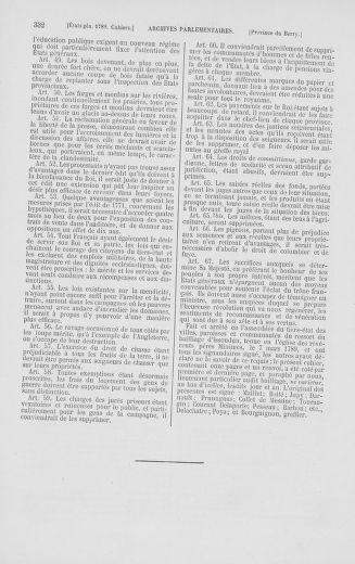 Tome 2 : 1789 – États généraux. Cahiers des sénéchaussées et baillages [Angoumois - Clermont-Ferrand] - page 332