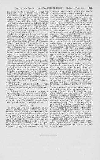 Tome 2 : 1789 – États généraux. Cahiers des sénéchaussées et baillages [Angoumois - Clermont-Ferrand] - page 345