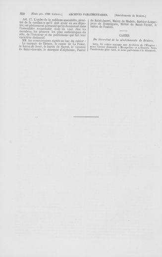 Tome 2 : 1789 – États généraux. Cahiers des sénéchaussées et baillages [Angoumois - Clermont-Ferrand] - page 350