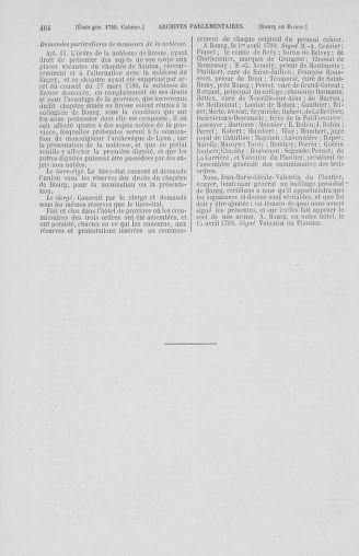 Tome 2 : 1789 – États généraux. Cahiers des sénéchaussées et baillages [Angoumois - Clermont-Ferrand] - page 464