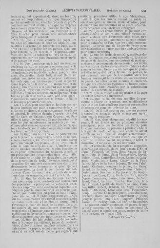 Tome 2 : 1789 – États généraux. Cahiers des sénéchaussées et baillages [Angoumois - Clermont-Ferrand] - page 503