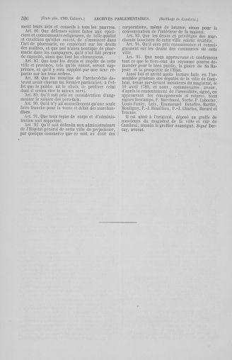 Tome 2 : 1789 – États généraux. Cahiers des sénéchaussées et baillages [Angoumois - Clermont-Ferrand] - page 526