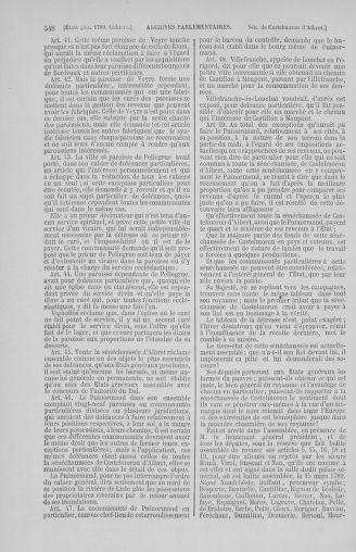 Tome 2 : 1789 – États généraux. Cahiers des sénéchaussées et baillages [Angoumois - Clermont-Ferrand] - page 548