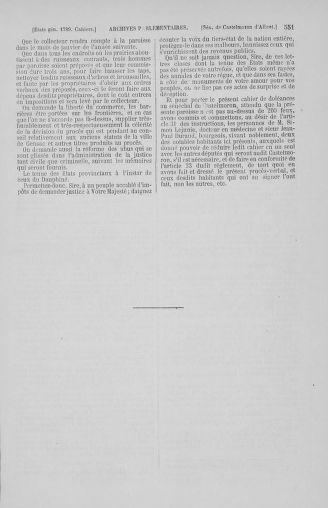 Tome 2 : 1789 – États généraux. Cahiers des sénéchaussées et baillages [Angoumois - Clermont-Ferrand] - page 551