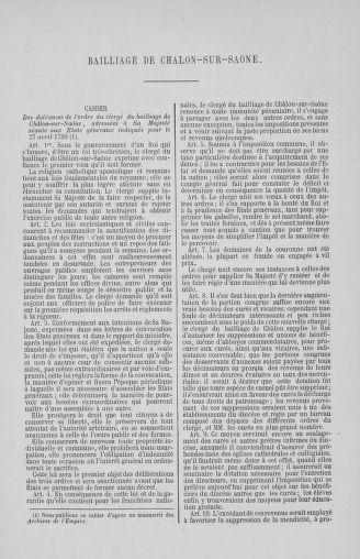 Tome 2 : 1789 – États généraux. Cahiers des sénéchaussées et baillages [Angoumois - Clermont-Ferrand] - page 601