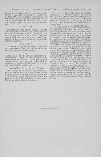 Tome 2 : 1789 – États généraux. Cahiers des sénéchaussées et baillages [Angoumois - Clermont-Ferrand] - page 613