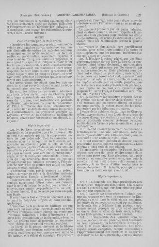 Tome 2 : 1789 – États généraux. Cahiers des sénéchaussées et baillages [Angoumois - Clermont-Ferrand] - page 627