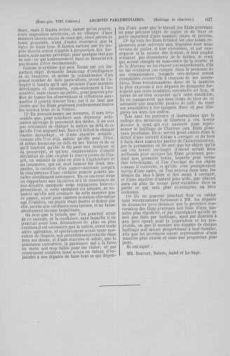 Tome 2 : 1789 – États généraux. Cahiers des sénéchaussées et baillages [Angoumois - Clermont-Ferrand] - page 637