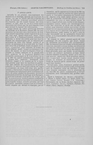 Tome 2 : 1789 – États généraux. Cahiers des sénéchaussées et baillages [Angoumois - Clermont-Ferrand] - page 719