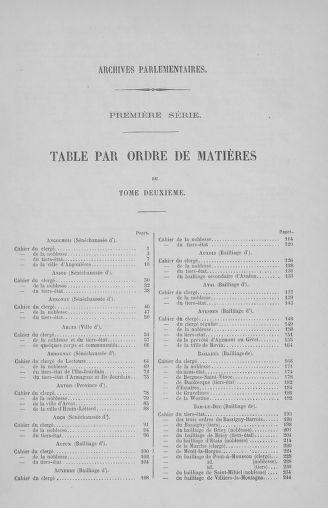 Tome 2 : 1789 – États généraux. Cahiers des sénéchaussées et baillages [Angoumois - Clermont-Ferrand] - page 775