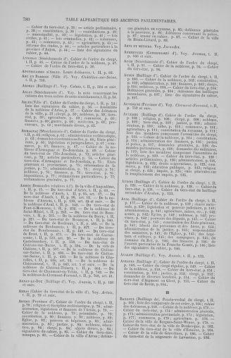 Tome 2 : 1789 – États généraux. Cahiers des sénéchaussées et baillages [Angoumois - Clermont-Ferrand] - page 780