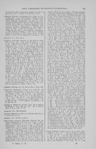 Tome 2 : 1789 – États généraux. Cahiers des sénéchaussées et baillages [Angoumois - Clermont-Ferrand] - page 785