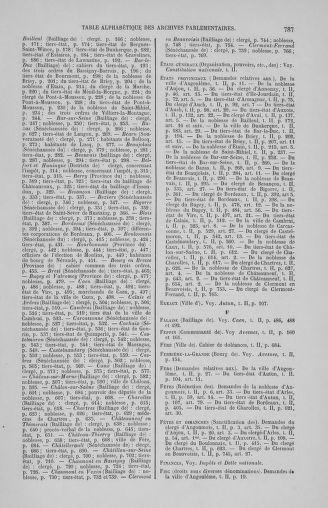 Tome 2 : 1789 – États généraux. Cahiers des sénéchaussées et baillages [Angoumois - Clermont-Ferrand] - page 787
