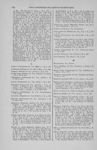 Tome 2 : 1789 – États généraux. Cahiers des sénéchaussées et baillages [Angoumois - Clermont-Ferrand] - page 790